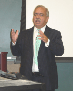 George Cloutier gives speech at Tulane