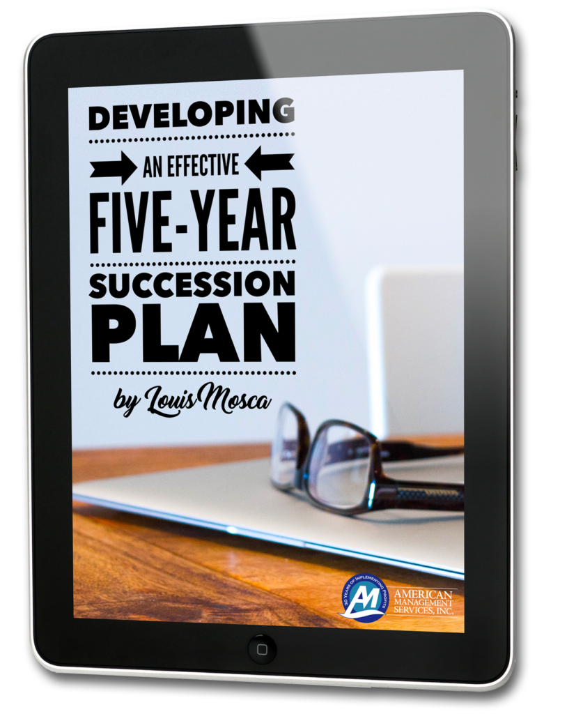 Succession Planning, American management services