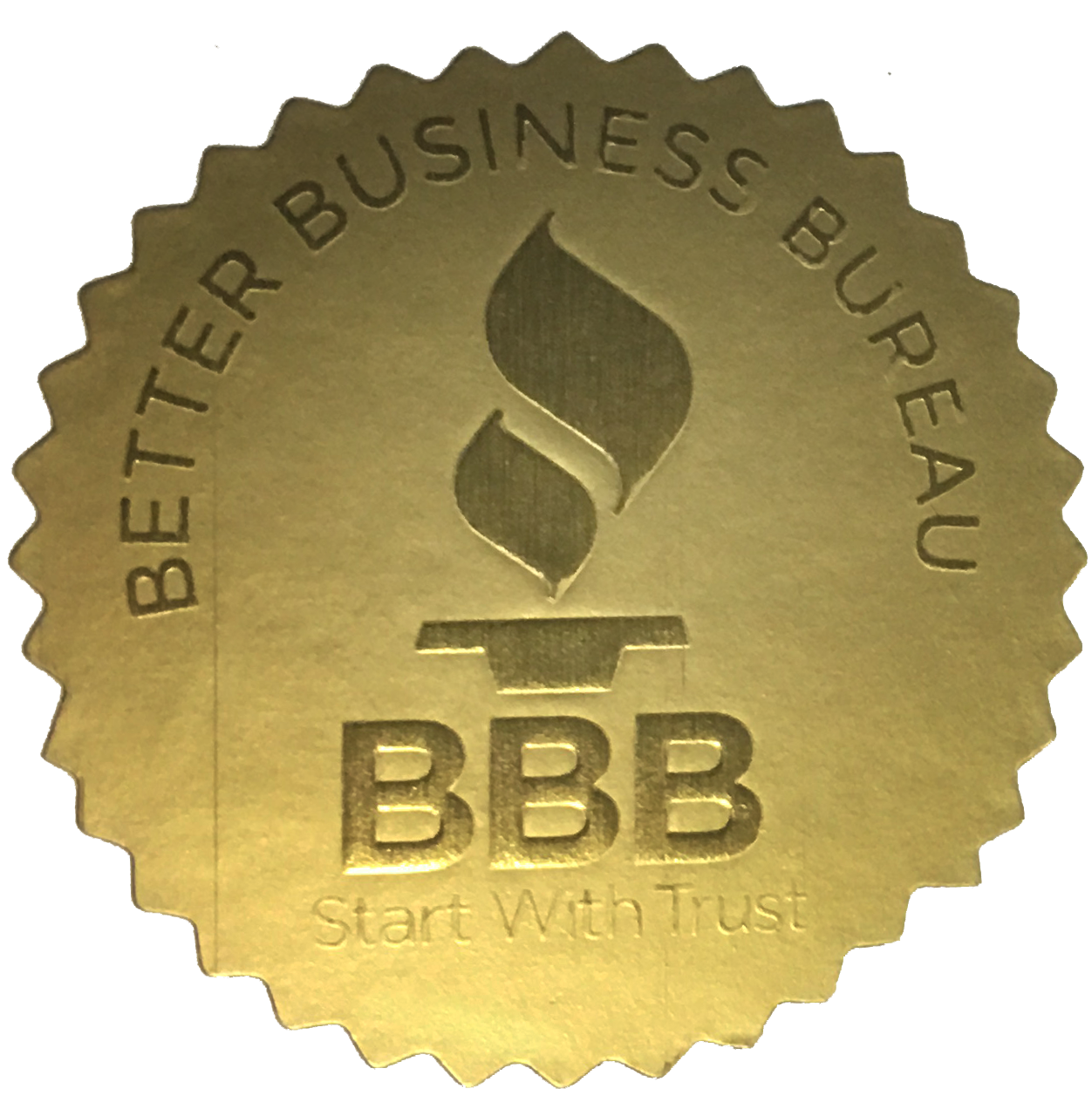 Better Business Bureau Accredited Business Stamp for American Management Services